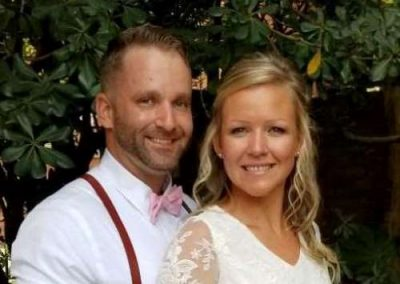 Overholt newlywed